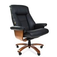 Кресло руководителя Chairman 400 кожа черное