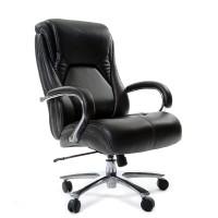 Кресло руководителя Chairman 402 кожаное черное