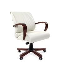 Кресло руководителя Chairman 444 WD белый