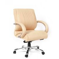 Кресло руководителя Chairman 444 кожа бежевая