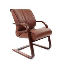 Кресло руководителя Chairman 445 WD коричневое