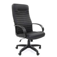Кресло руководителя Chairman 480 LT Экокожа премиум черная