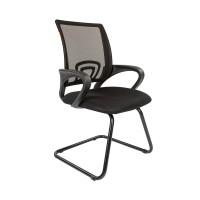 Кресло посетителя Chairman 696 V TW-01(черный)