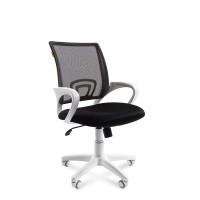 Кресло оператора Chairman 696 white белый пластик / черный