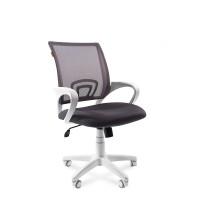 Кресло оператора Chairman 696 white белый пластик / серый