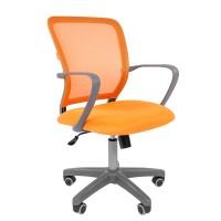 Кресло оператора Chairman 698 grey оранжевый