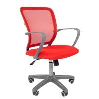 Кресло оператора Chairman 698 grey красный