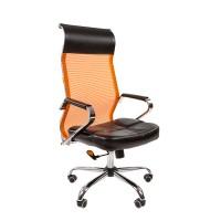 Кресло руководителя Chairman 700 сетка TW оранжевая