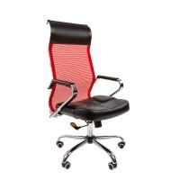 Кресло руководителя Chairman 700 сетка TW красная