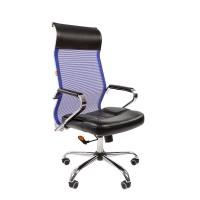 Кресло руководителя Chairman 700 сетка TW синяя