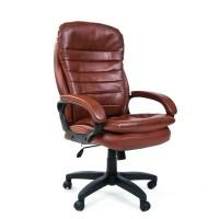Кресло руководителя Chairman 795 LT Экокожа коричневое