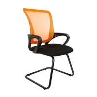 Кресло посетителя Chairman 969V оранжевый