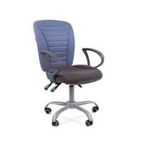 Кресло оператора Chairman 9801 ERGO голубой/серый