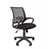 Кресло оператора Chairman 696 grey Сетка TW-04 серый