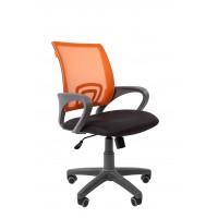 Кресло оператора Chairman 696 grey Сетка TW-66 оранжевый