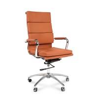 Кресло руководителя Chairman 750 экокожа оранжевый