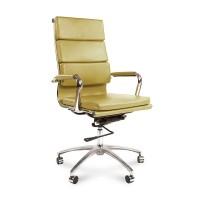 Кресло руководителя Chairman 750 экокожа фисташковый
