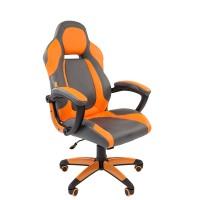 Кресло руководителя Chairman GAME 20 серый/оранжевый