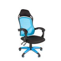 Кресло руководителя Chairman GAME 12 синий