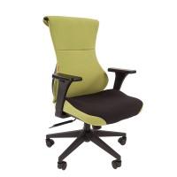 Кресло руководителя Chairman GAME 10 зеленый/черный