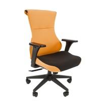 Кресло руководителя Chairman GAME 10 оранжевый/черный