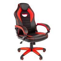 Кресло руководителя Chairman GAME 16 черный/красный
