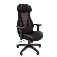 Кресло руководителя Chairman GAME 14 черный/серый
