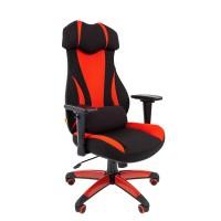 Кресло руководителя Chairman GAME 14 черный/красный