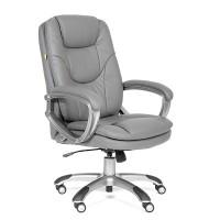 Кресло руководителя Chairman 668 Экокожа премиум серая