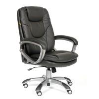 Кресло руководителя Chairman 668 Экокожа премиум черная