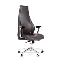Кресло руководителя Chairman JAZZZ кожа темно-серая
