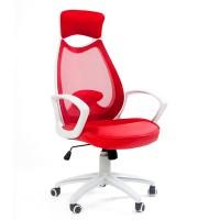 Кресло руководителя Chairman 840 White красное