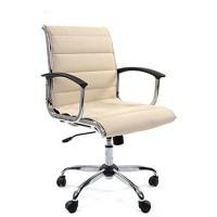 Кресло руководителя Chairman 760M Экокожа премиум бежевая
