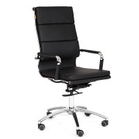 Кресло руководителя Chairman 750 экокожа черная