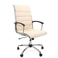 Кресло руководителя Chairman 760 Экокожа премиум бежевая
