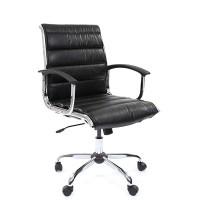 Кресло руководителя Chairman 760M Экокожа премиум черная