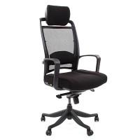 Кресло руководителя Chairman 283 Ткань 26-28 черное