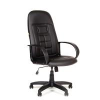 Кресло руководителя Chairman 727 экокожа черная
