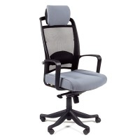 Кресло руководителя Chairman 283 Ткань 26-25 серое