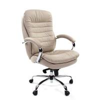 Кресло руководителя Chairman 795 кожа белая