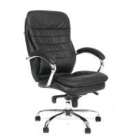 Кресло руководителя Chairman 795 кожа черная
