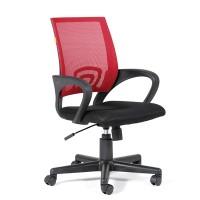 Кресло оператора Chairman 696 black акрил DW69 красный