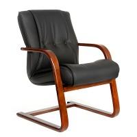 Кресло посетителя Chairman 653V черное