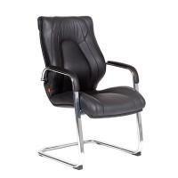 Кресло посетителя Chairman FugaV Экокожа премиум черная