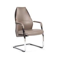 Кресло посетителя Chairman Basic V Экокожа темно-серая