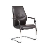 Кресло посетителя Chairman Vista V коричневый (1062)