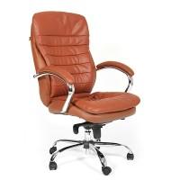 Кресло руководителя Chairman 795 кожа светло-коричневая