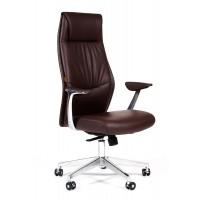 Кресло руководителя Chairman VISTA эко коричневое